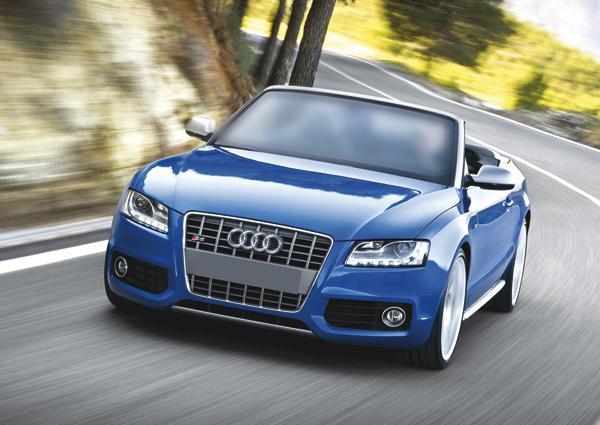 Audi S5 Cabriolet – предвестник автомобильного лета