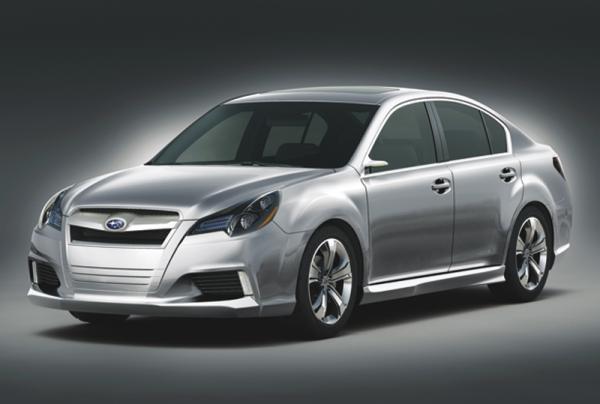 Subaru Legacy покажут в апреле