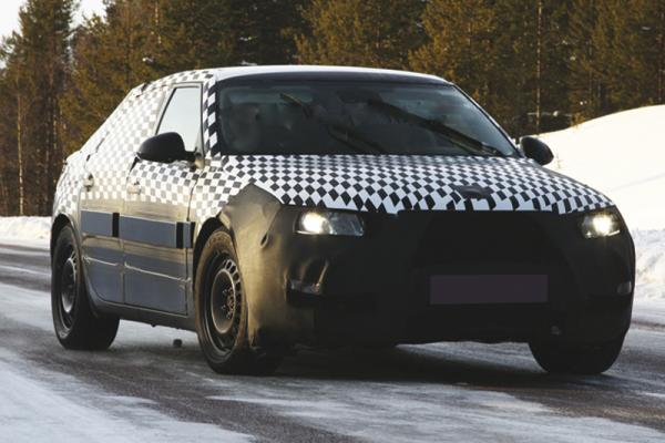 Saab 9-5 проходит последние испытания