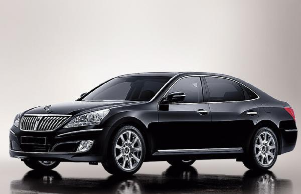 Hyundai Equus: люкс по-корейски