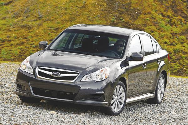 Subaru Legacy пятого поколения