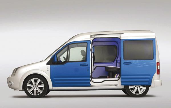 Ford Transit для семьи ХХI века