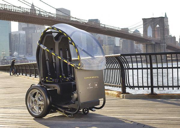 GM Puma Concept: двухколесное транспортное средство для города