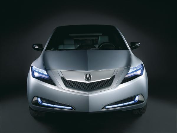 Acura ZDX Concept: вседорожное купе