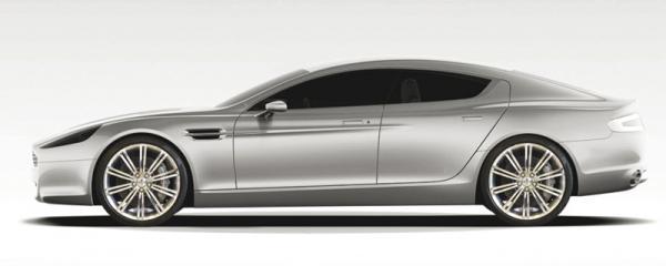 Aston Martin Rapide начнут выпускать в конце года