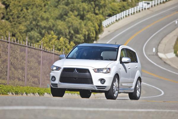 Mitsubishi Outlander GT Prototype: мировая премьера