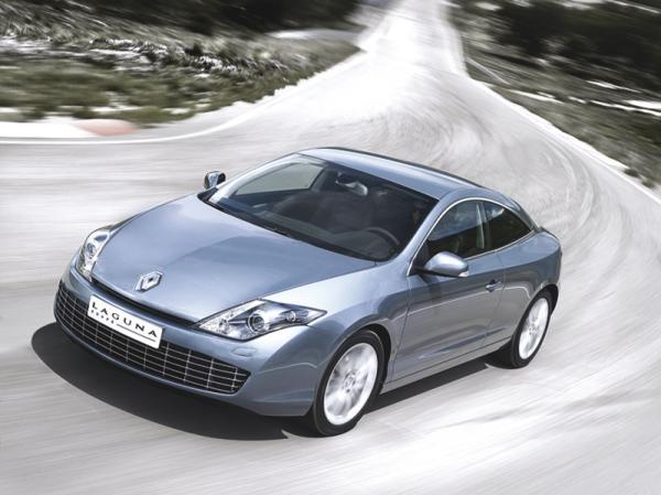 Renault Laguna Coupe будет доступно в Украине