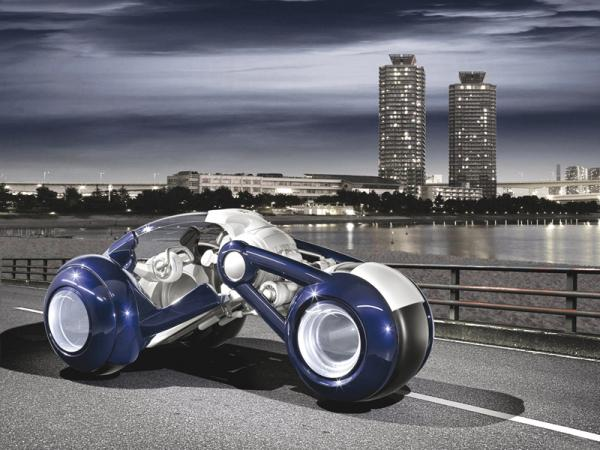 RD Concept сочетает черты скутера и автомобиля
