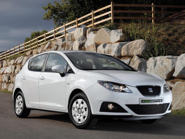 SEAT Ibiza Ecomotive расходовал в среднем 2,9 л/100 км