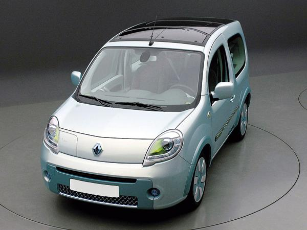 Renault Kangoo be bop Z.E.: первый электромобиль Renault
