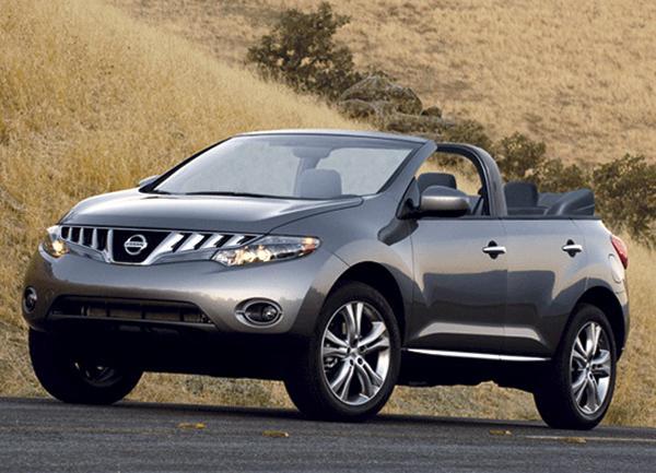 Nissan Murano станет кабриолетом