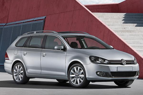 Volkswagen Golf Variant обрел родство с Golf VI