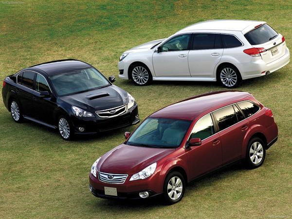 Subaru Legacy: семейство расширил универсал