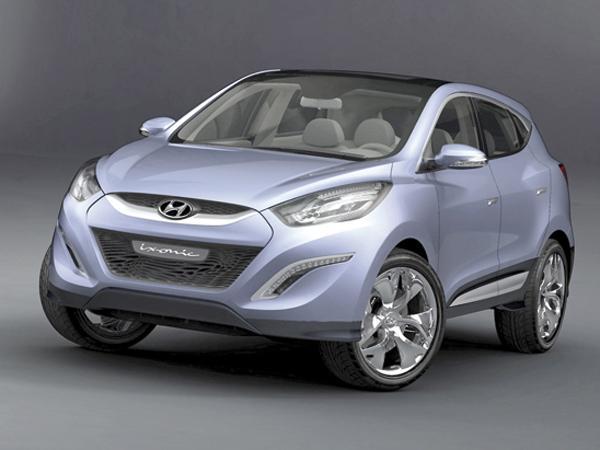 Концепт-кар Hyundai  ix-onic представлен в Украине