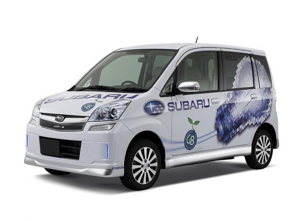 Subaru Plug-in Stella: компактный электромобиль