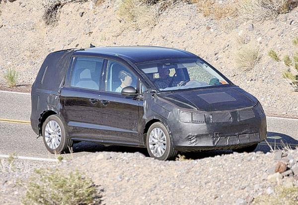 Volkswagen Sharan: следующее поколение