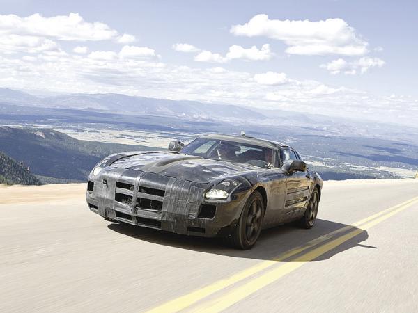 Mercedes-Benz SLS AMG получит электродвигатели