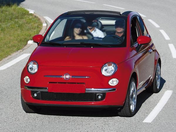 Fiat 500С: кабриолет в классическом стиле