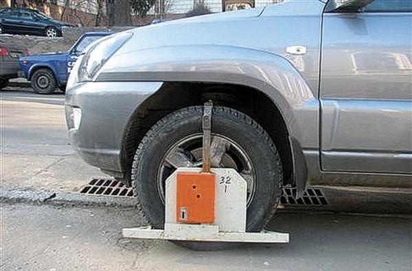 Киев. Блокировку колес запретят