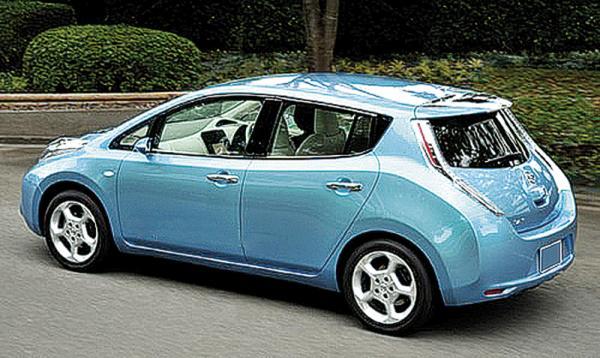 Nissan Leaf – предсерийный электромобиль