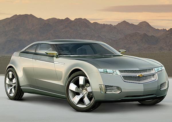 General Motors готовится выпустить в серию  электрокар Chevrolet Volt
