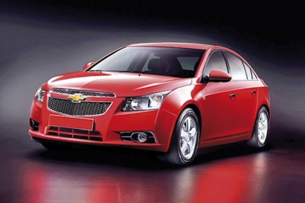 Chevrolet Cruze появится в Украине в сентябре