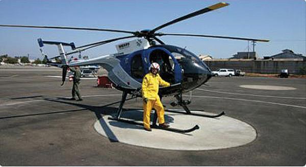 В Киеве построят 40 вертолетных площадок