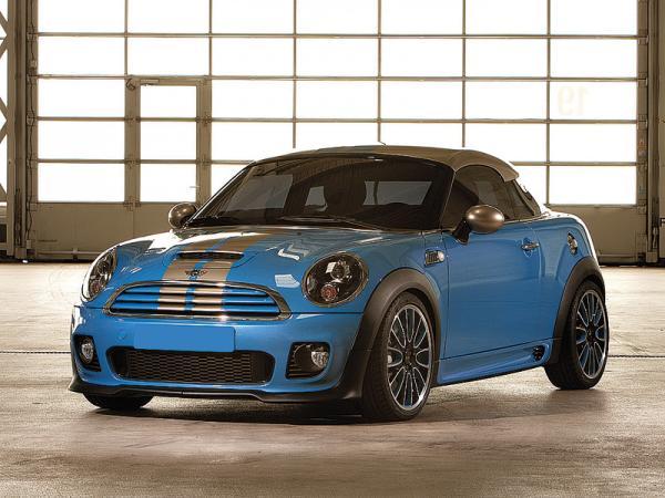 Mini Coupe Concept: к 50-летию превратили в купе