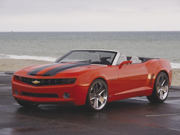Chevrolet Camaro Convertible появится в 2010 году
