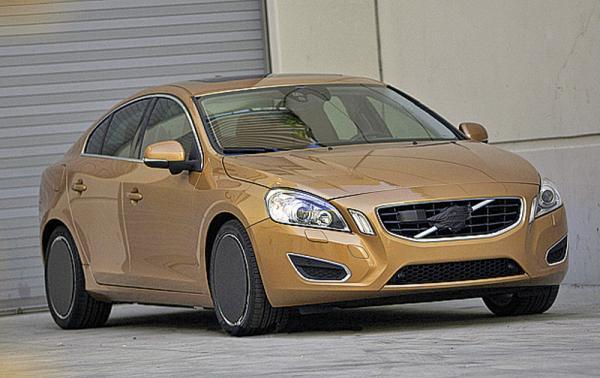 Volvo S60 – обновленный и почти без камуфляжа
