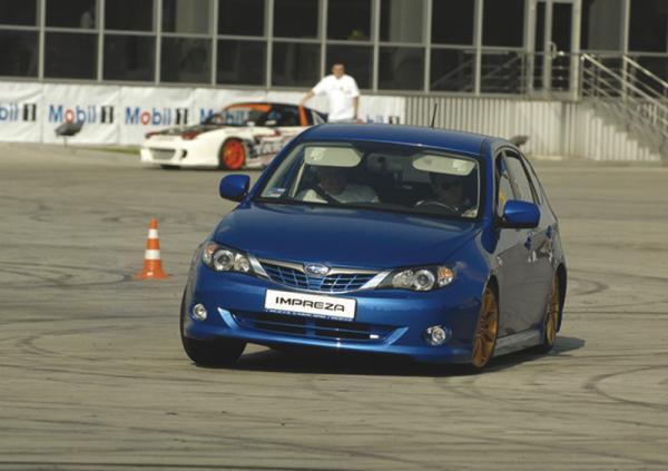 Команда Impreza Racing показала джимхану