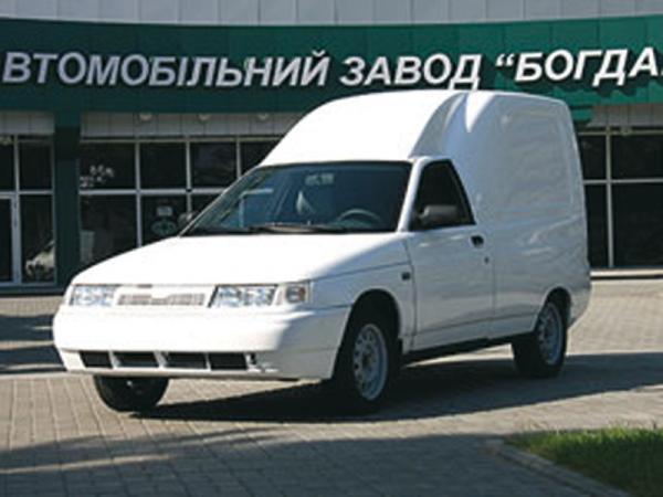 """ВАЗ 2110. Фургон от корпорации """"Богдан"""""""
