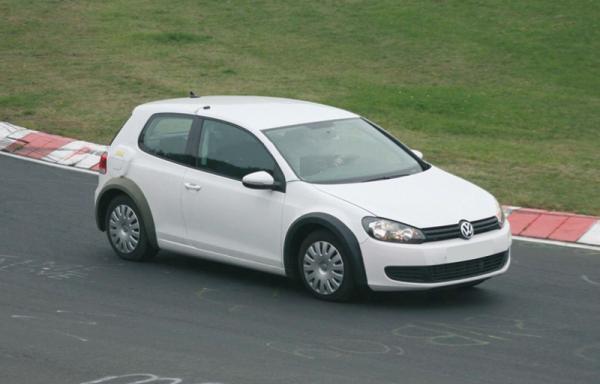 Golf VII: первые фото VW