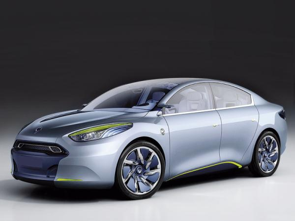 Четверка электромобилей от Renault
