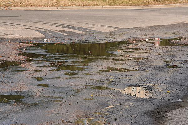 Киев. Подъездные дороги реконструируют