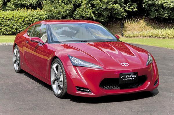 Toyota FT86: совместный концепт Toyota и Subaru