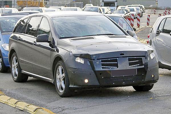 Mercedes-Benz R-класса: обновление