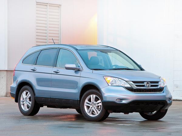 Honda CR-V: обновленный вседорожник