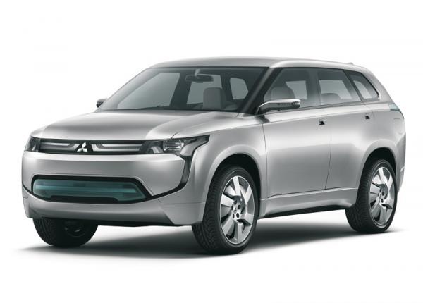 Mitsubishi Concept PX MiEV: предтеча будущего Outlander