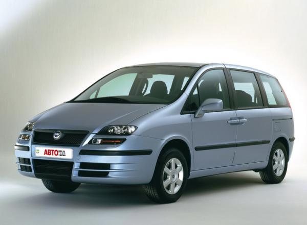 Fiat Ulysse (2002-2007): по закону жанра