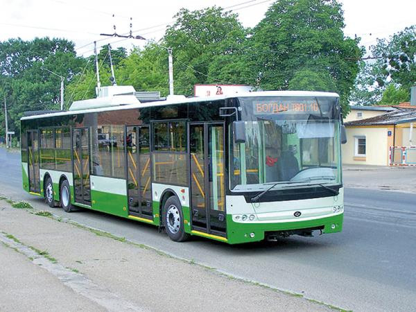 Богдан Т-801.10: новый украинский троллейбус проходит испытания