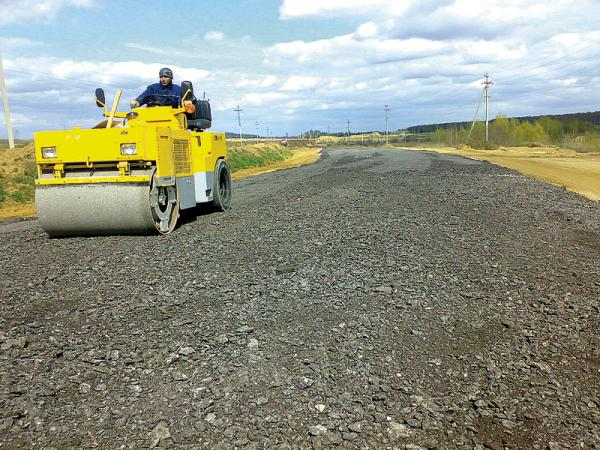 В процессе ремонта дорога будет доведена до параметров II категории