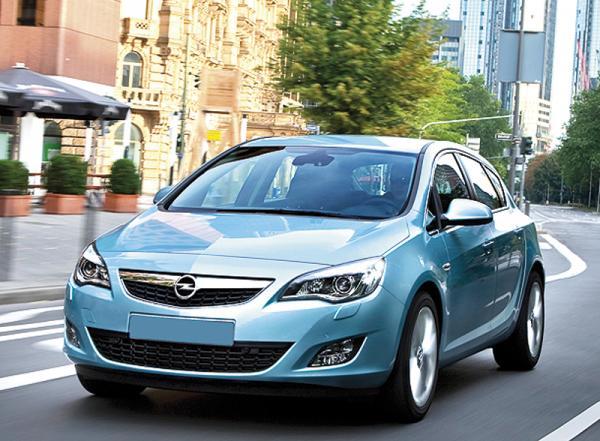 Opel Astra начнут продавать с марта