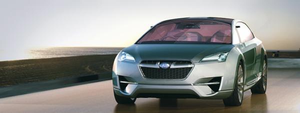 Subaru Hybrid Tourer Concept: гибридное купе