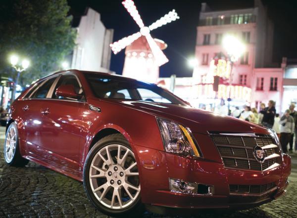 Cadillac CTS Sport Wagon: когда практичность не мешает спортивности