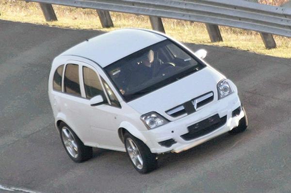 Opel Corsa стал вседорожником