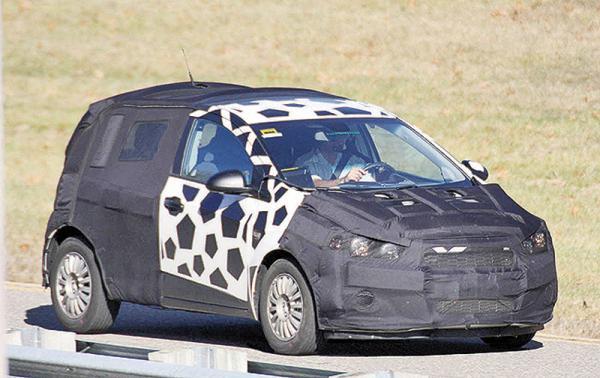 Chevrolet Aveo: второе поколение