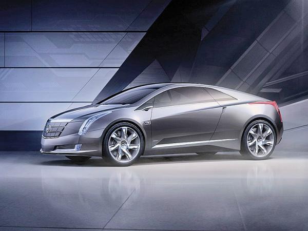 Cadillac Converj: гибридное купе