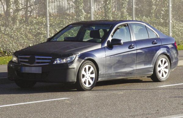Mercedes C-Class: первое обновление