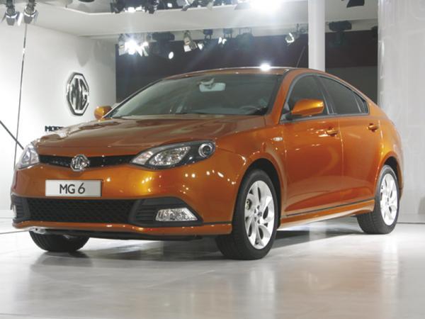 MG6: британско-китайский автомобиль